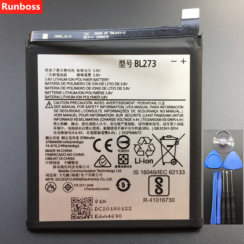 New Original 4000mAh BL273 <font><b>Battery</b></font> For <font><b>Lenovo</b></font> <font><b>K6</b></font> <font><b>Note</b></font> / K53a48 Rechargeable Li-ion Built-in Mobile Phone <font><b>Battery</b></font> image