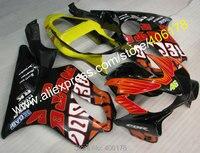 Hot Sales,For honda cbr f4i fairings 01 02 03 cbr 600 f4i fairings CBR 600 2001 2002 2003 fairings kit (Injection molding)