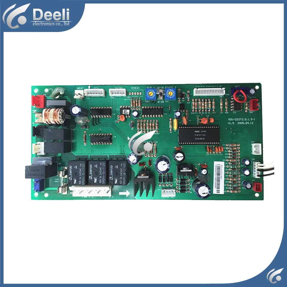 95% new good working for central air conditioner motherboard MDV-D22T2.D.1.3-1 MDV-D22T2(NET) computer board 95% new good working for midea air conditioning computer board mdv d22t2 d 1 4 1 mdv d22t2 board