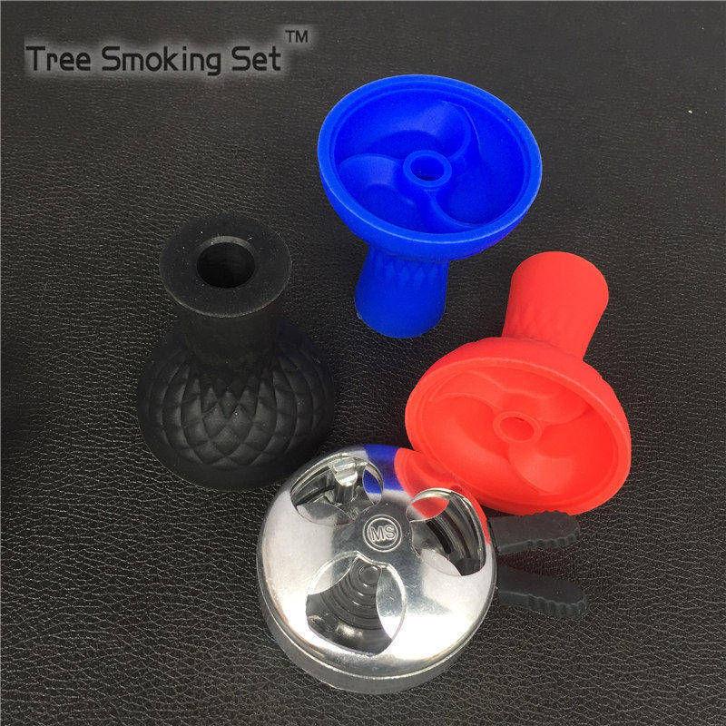 1pc Shisha Bowl Hooka Hookah Accessories +Charcoal Holder sheesha Head Heat Keeper Mini water pipe Hookah Tobacco Bowls