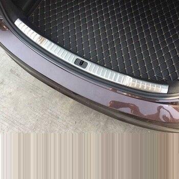 السيارات الجذع الخلفية لوحات السيارات تعديل الكروم الزخرفية سيارة التصميم أجزاء مشرق الترتر 16 17 18 ل بويك لاكروس