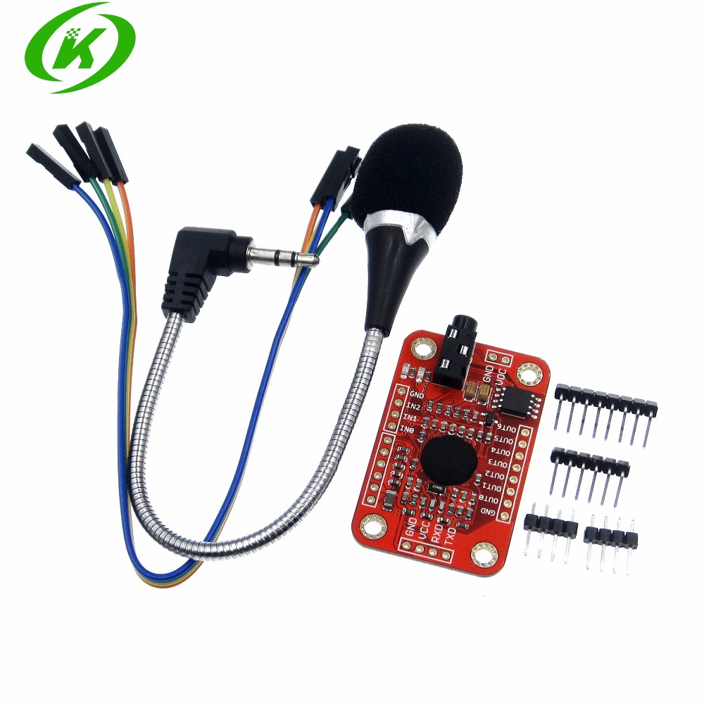 Reconnaissance ensemble/lot 5 vitesses, Module de reconnaissance vocale V3, compatible avecReconnaissance ensemble/lot 5 vitesses, Module de reconnaissance vocale V3, compatible avec