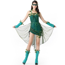 Umorden Sexy Poison Ivy Costume Lethal Beauty Costumes for Women Adult Halloween Party Carnival Cosplay Dress все цены