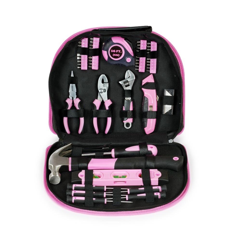 WORKPRO 103PC Set roz de unelte Set de unelte de mână pentru - Seturi de instrumente - Fotografie 2