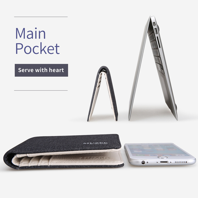 New Canvas Zipper Wallet