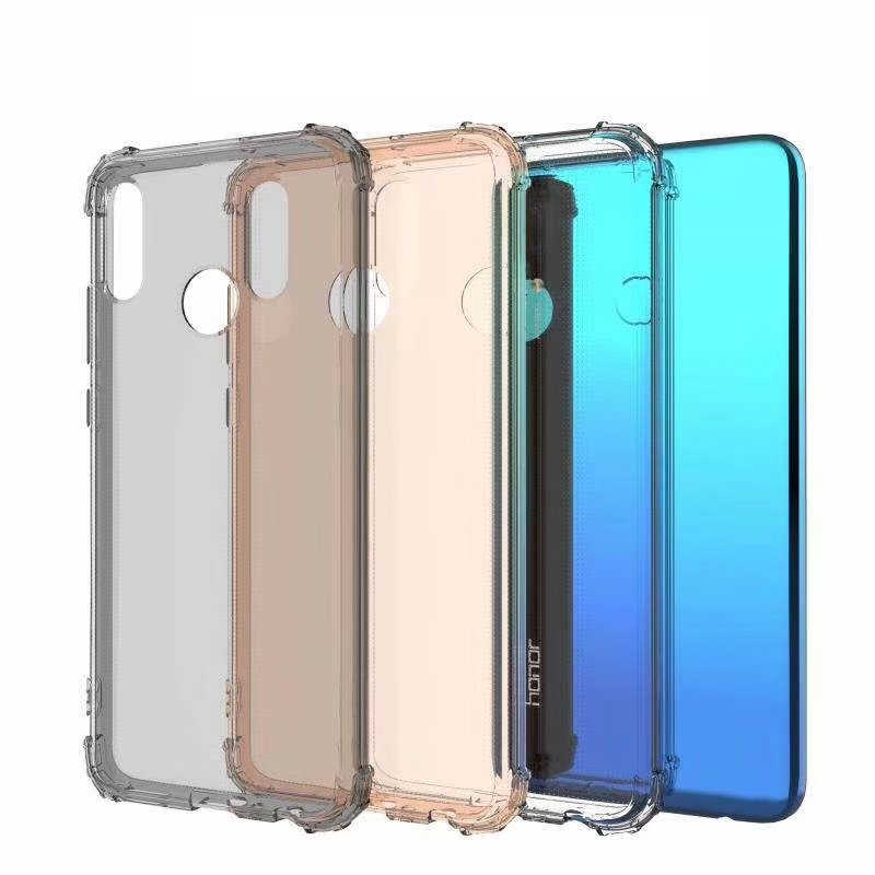 Armor Anti-Shock Bumper TPU Silicone Case For Huawei P30 P20 Pro P10 Lite Mate 20 10 8 Cover Transparent Back Soft Phone Cases