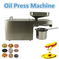 New Designed 110V 220V Stainless Steel Small Mini Home Use Oil Press Machine For Sale