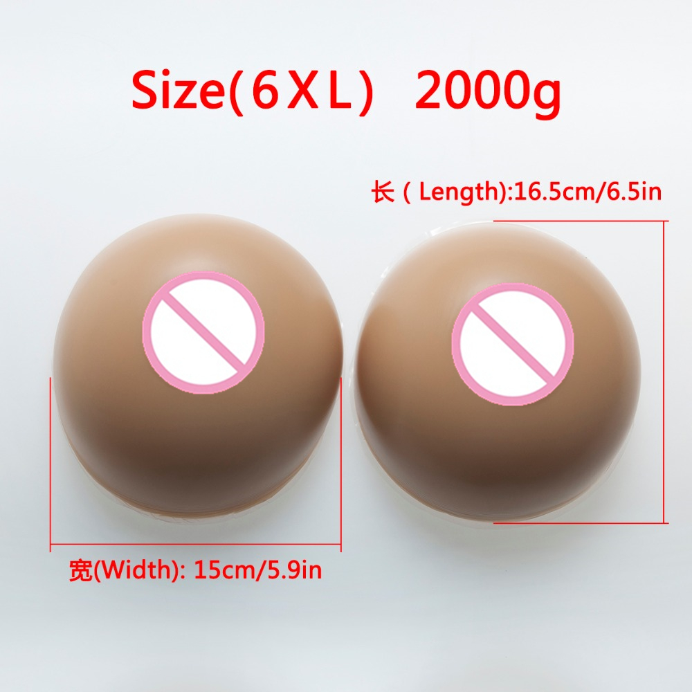 2000g/pair Women Artificial Silicone Fake Breast Forms Full Boobs Enhancer Cross Dresser Breast Forms Fake Boobs F CUP цена 2017