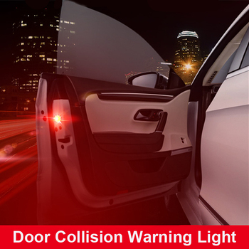 Car Door LED Warning lamp safely Flash Light For Audi a4 b8 HYUNDAI IX35 Solaris Opel Mokka kia sportage