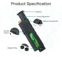 핸드 헬드 검사 프로브 komshine KFM 200 광섬유 현미경 (1.25/2.5mm 어댑터 포함)