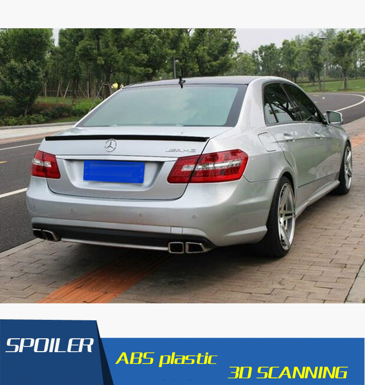 For Benz W212 Spoiler High Quality Carbon Fiber Car Rear Wing Spoiler For Benz W212 E300