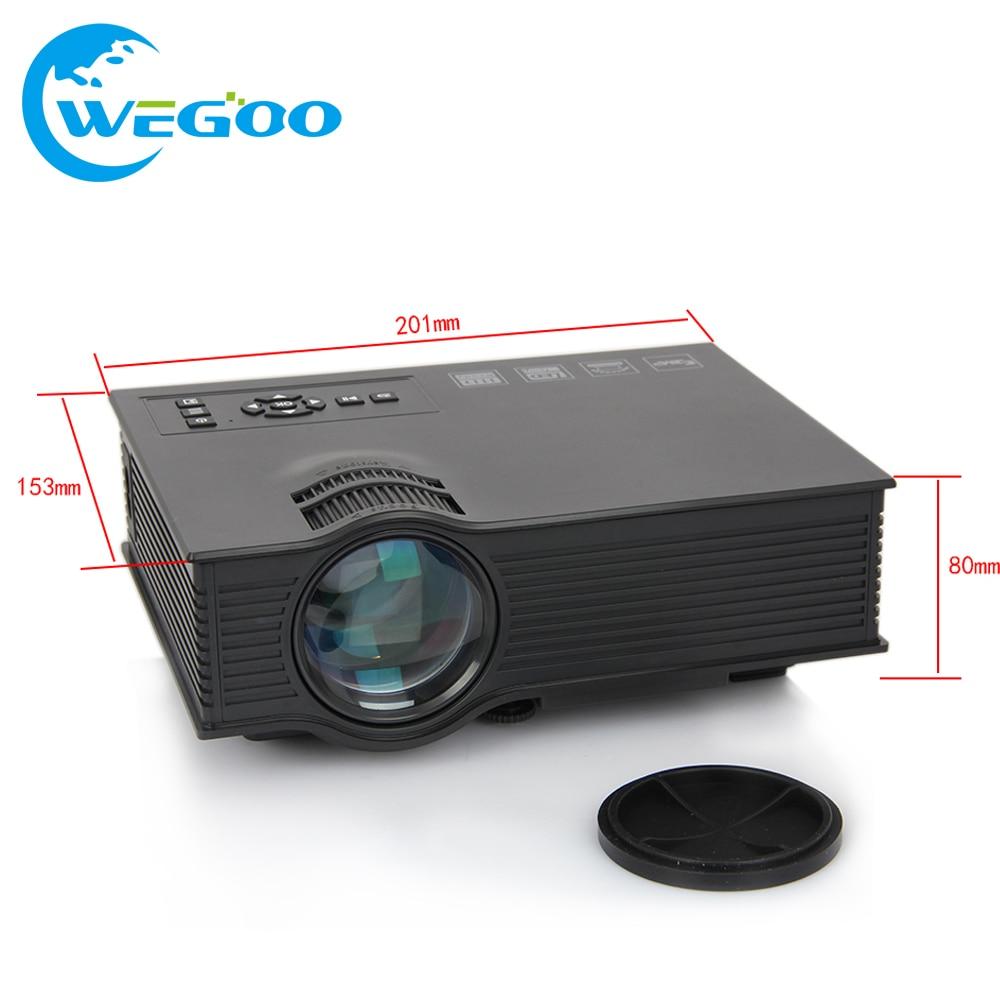 ФОТО 2017 UC40+ Projector Portable LED LCD Home Theater USB/SD/AV/VGA/HDMI Input 800*480 Multimedia Beamer/Proyector