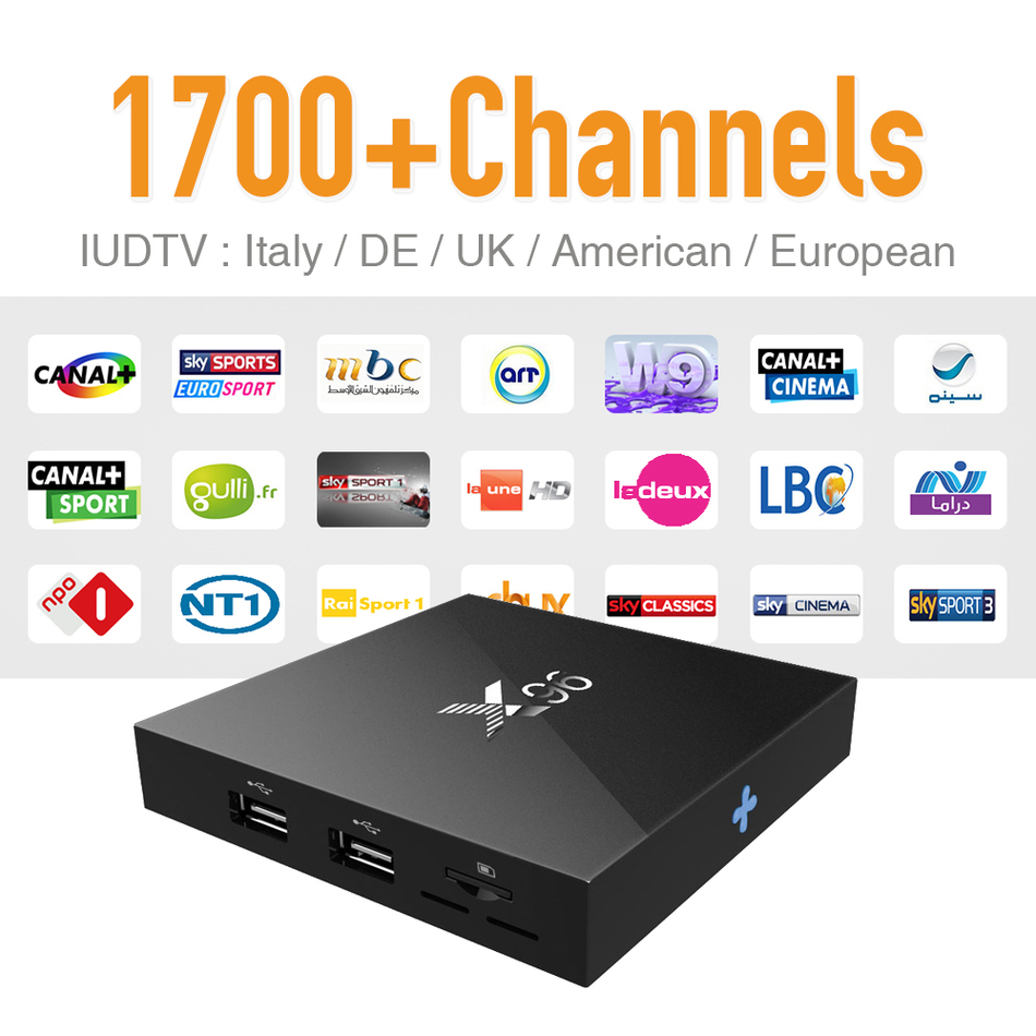 IPTV Europe Tv Box Android 6.0 & 1700 Arabic Sky Canal Travel IPTV Hot Channels and Strong Wifi Signal S905X CPU 4K Tv Receiver nirmal singh japinder kaur and amteshwar s jaggi k channels in cerebroprotective mechanism of ischemic postconditioning