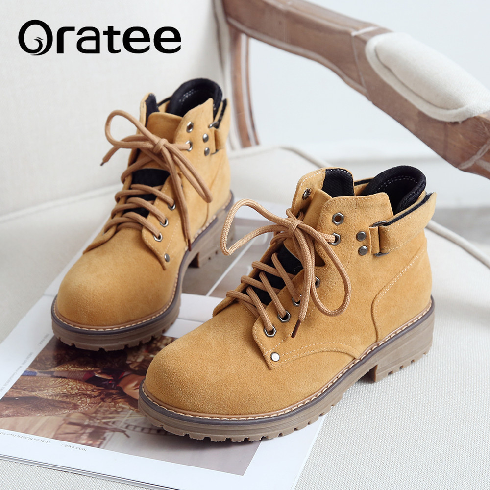 4b147ea7602 US $21.0 40% OFF|Aliexpress.com : Buy Women Martin Boots New Spring Autumn  Winter Warm Rivet Ankle Boots Motorcycle Platforms Women's College Shoes ...