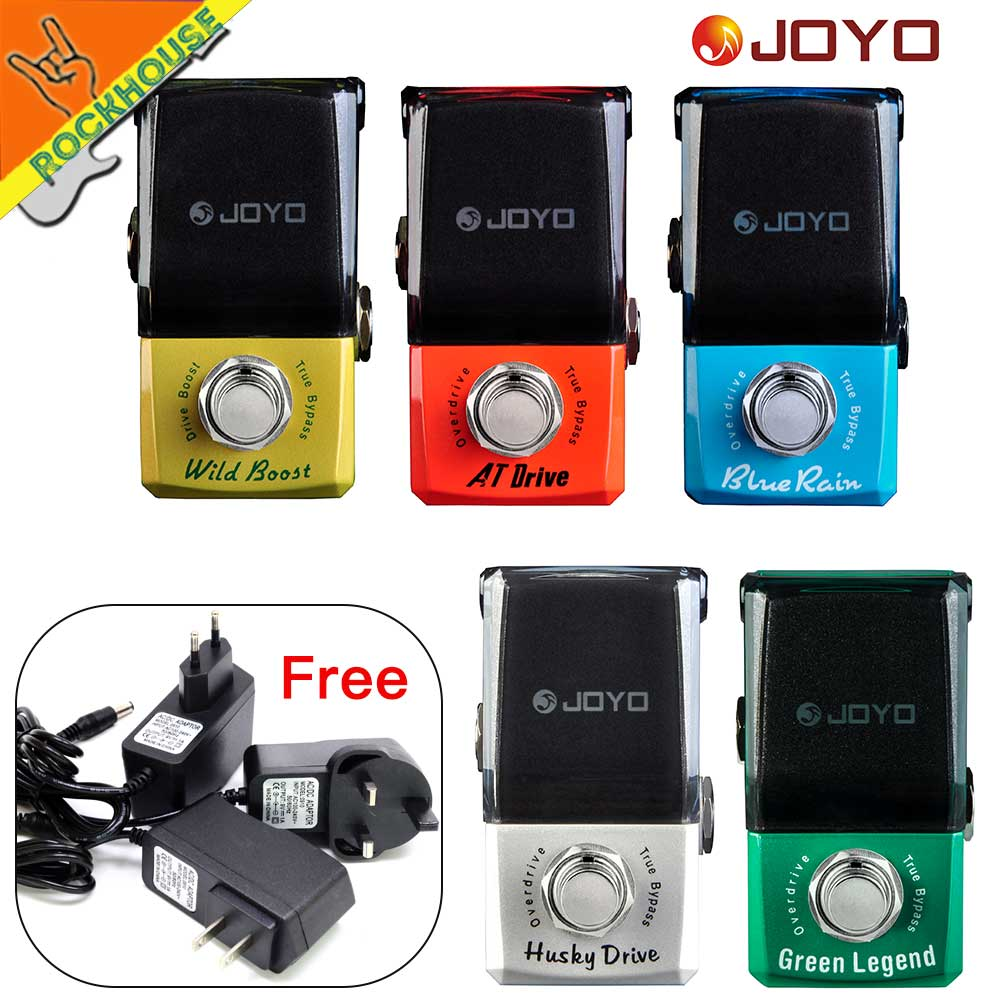 JOYO IRONMAN Overdrive Guitar Effects Pedal Tube Overdrive high gain overdrive Booster Blues overload True Bypass Free Shipping