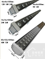 36X1W 1Metre IP65 Outdoor Flood Wall Washer Light Lamp CE RoHS Waterproof Outdoor Project Lamp