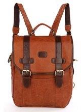 Maxdo Vintage 100% Real Genuine Leather Women Backpack For Girl Cute Cowhide School Bags Travel Bag #MD-J7163