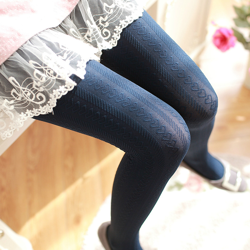 HSS Brand Velvet autumn and winter wild pantyhose Women three-dimensional love thin tights 140 D bottoming stockings