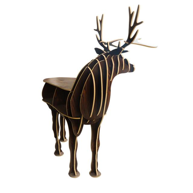 Estilo Nórdico europeo volvió ciervos de estilo Europeo decoración del hogar del Hotel restaurante bar estantes envío libre
