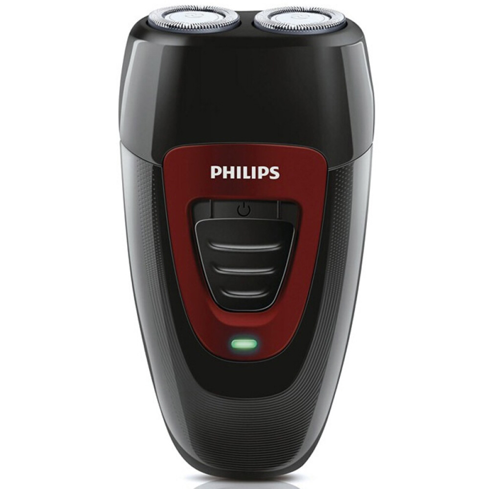 PHILIPS Intelligent Professional Electric Razor Electric Shaver Rotary 2 heads Portable Razor PQ182/16 Black for Men