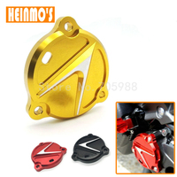High Quality 3 Colors Motorcycle Parts CNC Aluminum Frame Hole Cover Front Drive Shaft Cover Guard