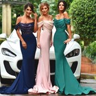 Save 19.5 on 2017 New Sparkly Sequins Mermaid Bridesmaid Dresses Off Shoulder Satin Long Wedding Party Gowns Floor Length Plus Size