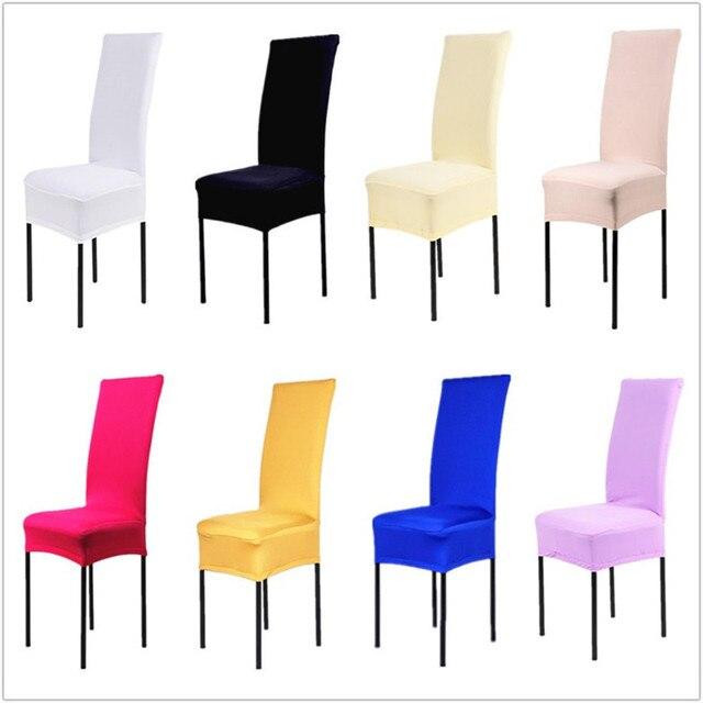 1 unidades Polyester spandex comedor Fundas para sillas S para boda ...