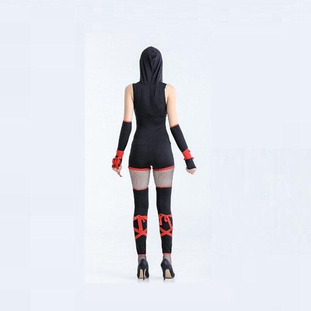 Female Ninja Costume Female Japanese Sexy Classic Ninja Costumes
