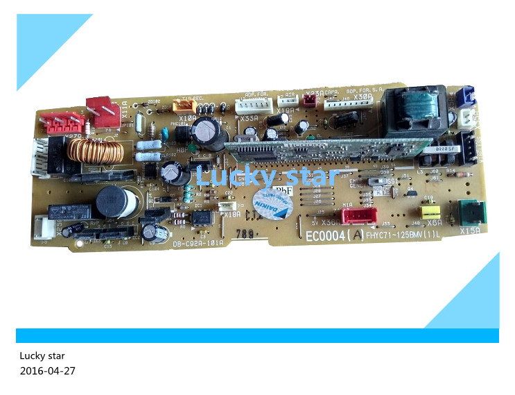 95% new for Air conditioning board circuit board EC0004 DB-C92A-101A FHYC71BMV1L computer board good working 95% new for haier refrigerator computer board circuit board bcd 198k 0064000619 driver board good working