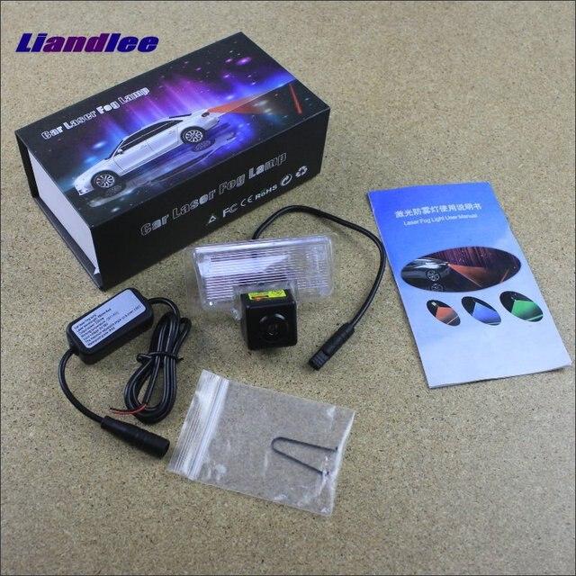 Liandlee Anti Laser Fog Lights For Infiniti Jx35 Qx60 Qx56 Qx80 Car Rear Distance Warning Alert Line Safe Drive Light