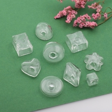 NEW 20pieces/lot mixed size shape Glass bubble glass vial pandent fashion DIY ring jewelry accessory