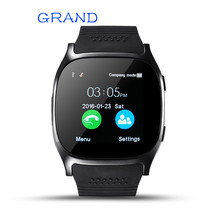 GRAND T8 Bluetooth Smart Watch Support SIM TF Card LBS Locating with 0.3mp camera smartwatch Sports wristwatch for Android phone