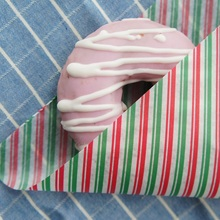 new 22*25cm 50pcs Christmas stripe design Bread Cake Cookies Food Wrapping Paper Christmas Packaging Butter Baking chocolate use