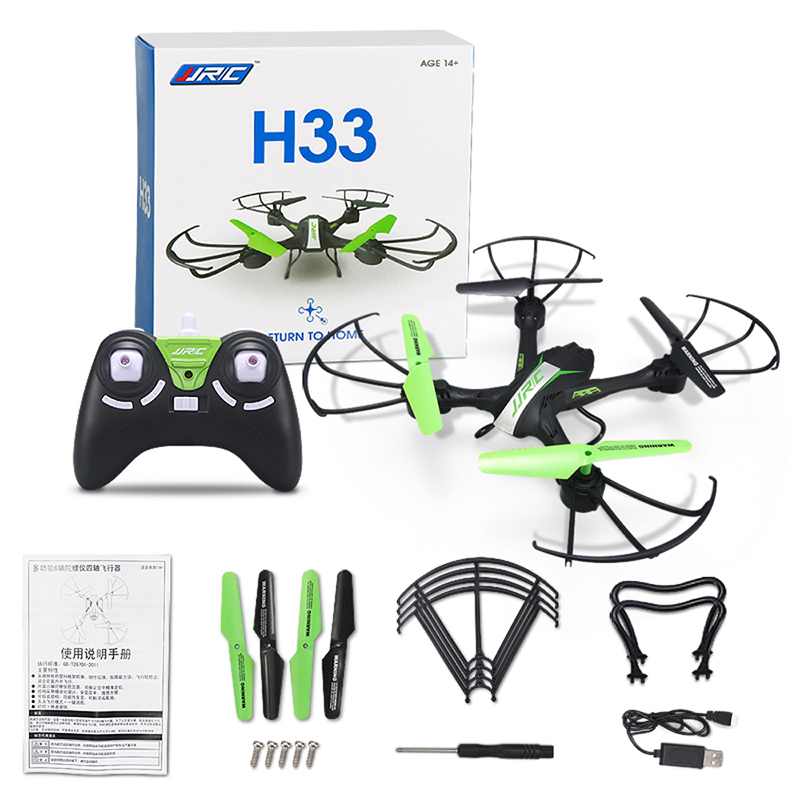 JJRC H33 Mini Drone RC Quadcopter 6-axis RC Helicopter Quadrocopter RC Drone One Key Return Dron Toys For Children mini drone rc drone quadcopters headless mode one key return rc helicopter vs jjrc h8 mini h20 dron best toys for kids