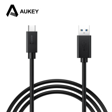 "AUKEY Type C Cable USB 3.0 to USB C 3.1 Sync & Charging Cable for Apple New MacBook 12"" Nexus 6P/ 5x Nokia N1 One Plus 2 & More"
