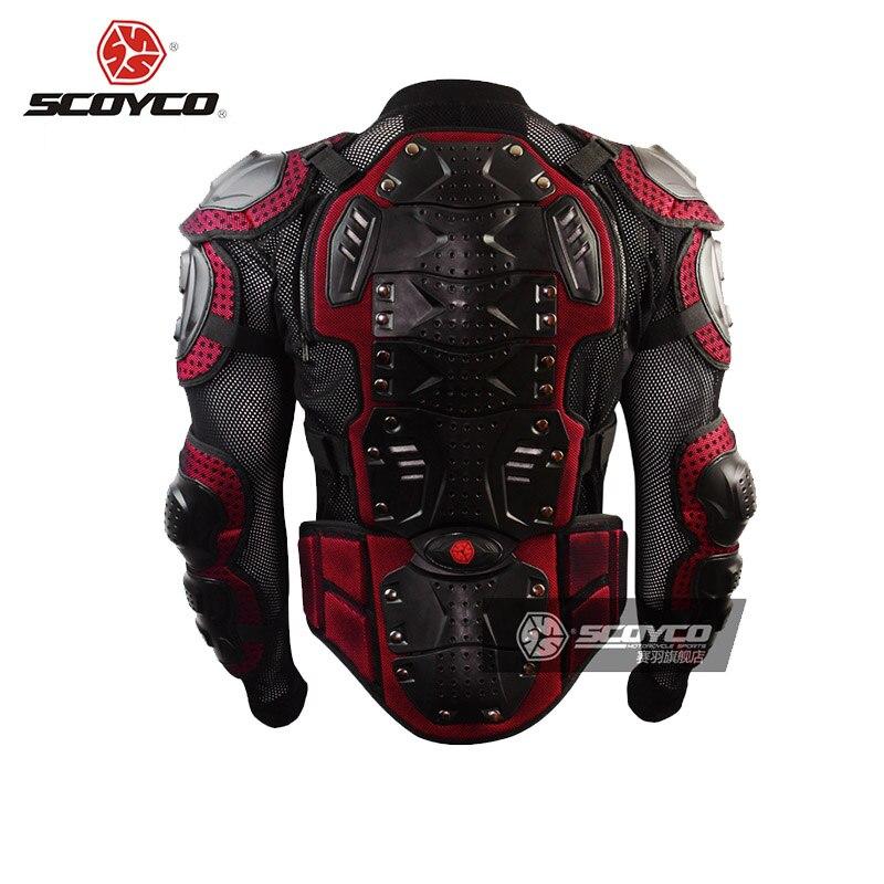 Scoyco armure de motocross moto tout-terrain équitation en plein air équipement de protection complet armure de cross country Body AM02 - 4