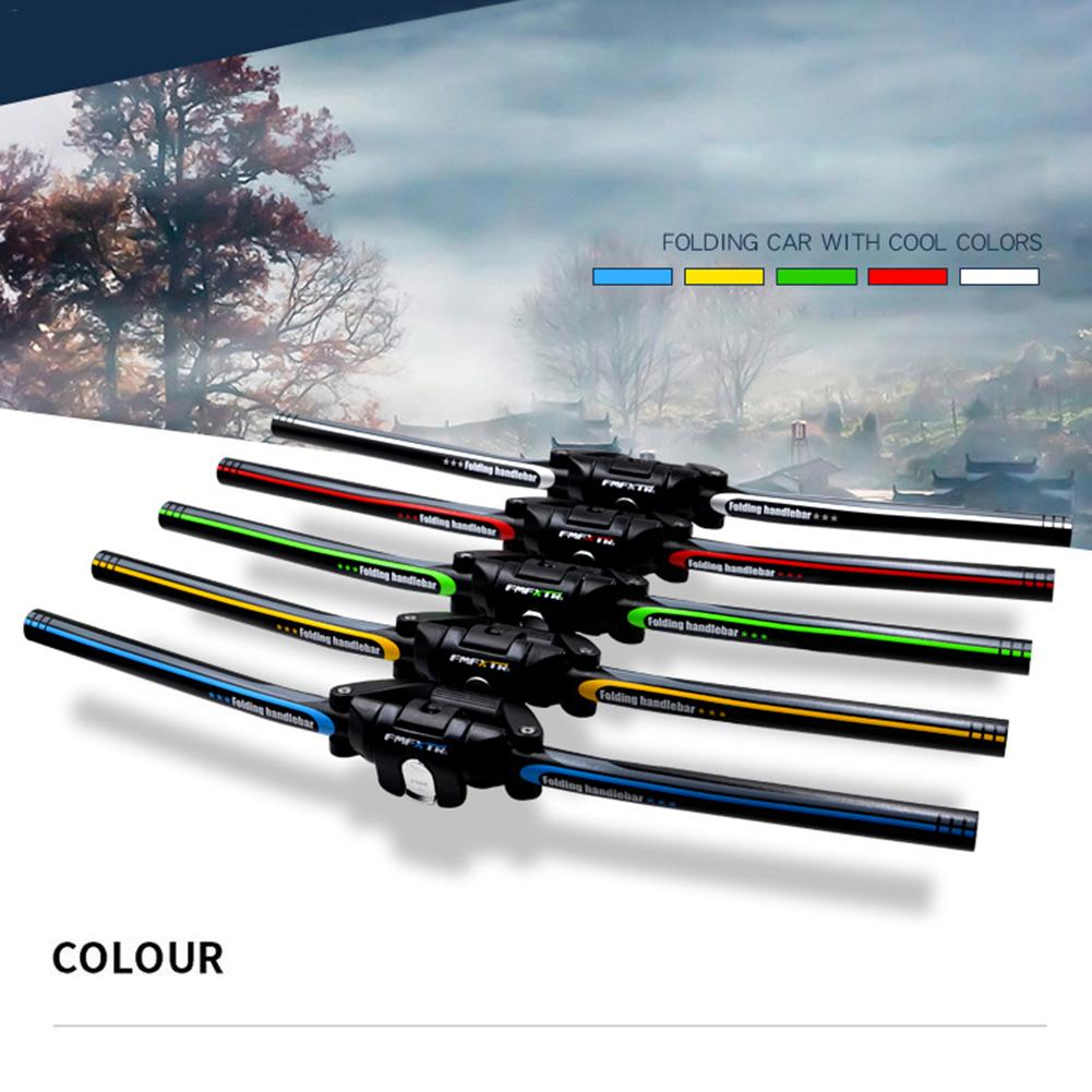 Portable High Quality Aluminum Alloy 6061 Bicycle Folding Handlebar Mountain Bike MTB Handlebars 25.4mm/31.8mm* 620mm петух kelly s cross алюминий 6061 2012 derailleur hanger cross aluminum 6061 alloy 2012