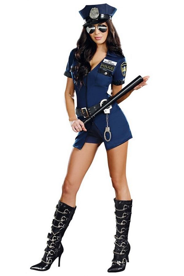 police sexy slim girls