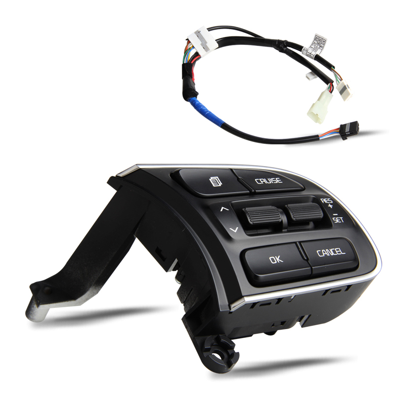 ФОТО Steering Wheel Remote Control Buttons for KIA KX5 (Single right) Cruise Control Switch With Speed Limit