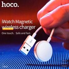 HOCO Оригинальное Беспроводное зарядное устройство для Apple Watch зарядное устройство магнитный для i Watch зарядный usb кабель 1 м для Apple Watch Series 4 3 2