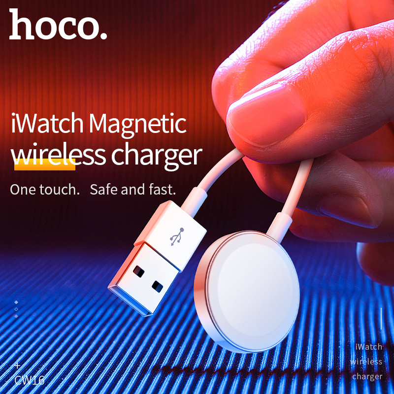 HOCO Original Wireless Charger for Apple Watch Charger Magnetic for i-Watch Charging <font><b>USB</b></font> Cable 1M for Apple Watch Series 4 <font><b>3</b></font> <font><b>2</b></font> image