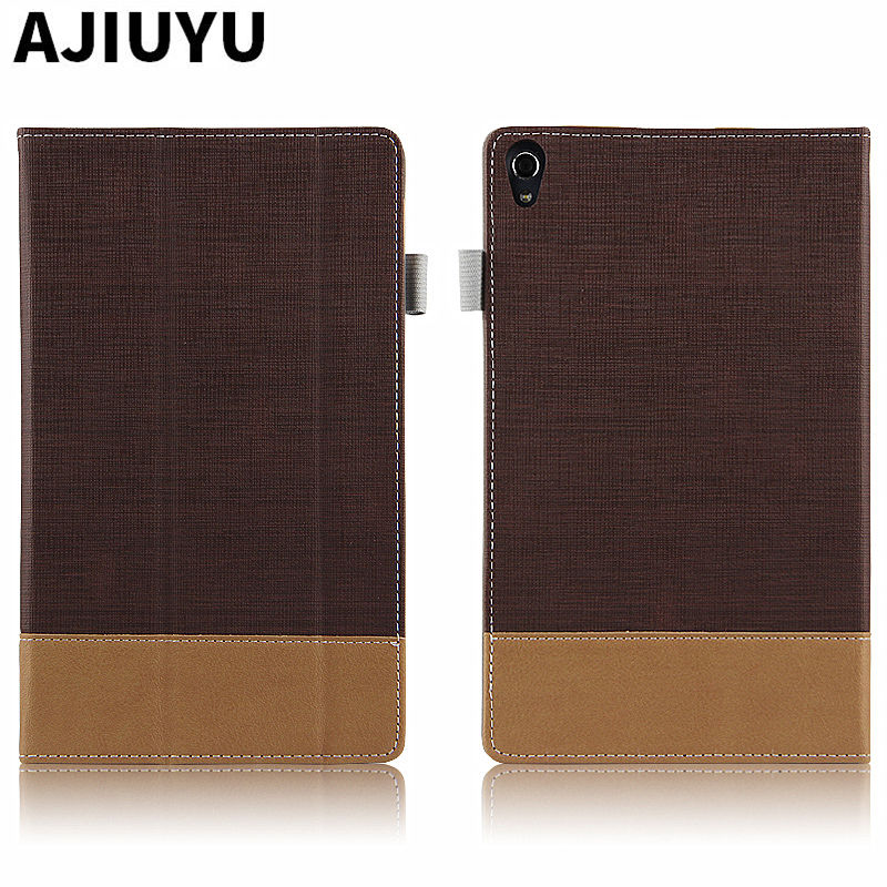 For Lenovo Tab 3 8.0 Plus Case Tab3 8 Protective Smart Cover Leather Tablet P8 8703N TB-8703F TB-8703X PU Protector Sleeve Case