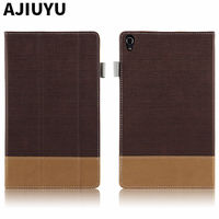 For Lenovo Tab 3 8 0 Plus Case Tab3 8 Protective Smart Cover Leather Tablet P8