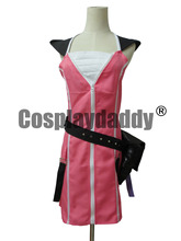 Kingdom Hearts II 2 KAIRI Cosplay Costume pink dress
