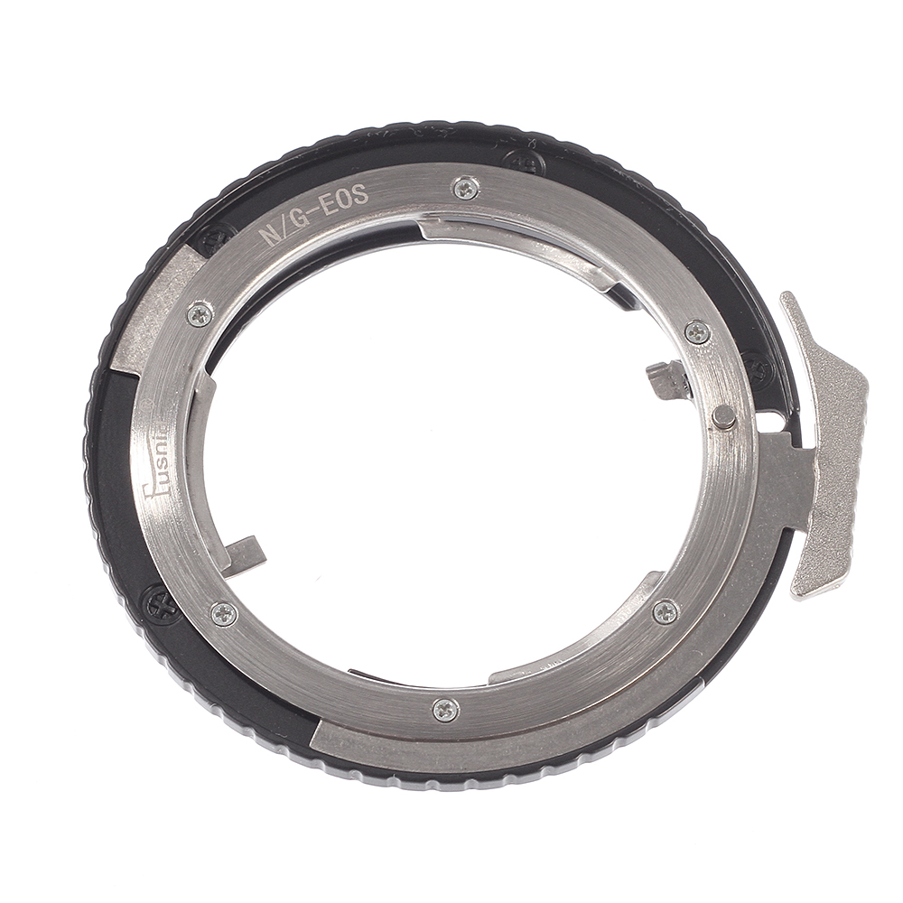 Manual Focusing Lens Adapter Ring for Nikon AI G D S lens to Canon EOS DSLR Camera Body