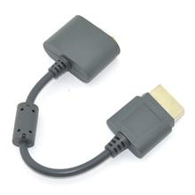 Złoty opticaal RCA adapter audio kabel zasilający dla xbox 360 wszystkie wersje adapter hdmi kabel av przewód do xbox 360