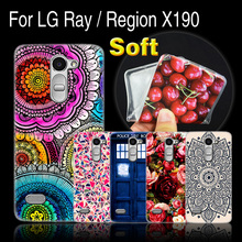 Ultra thin Case For LG X 190 Printing TPU Cell Phone Case For LG Ray Zone