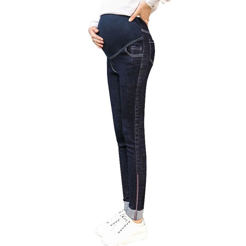 Denim Jeans Maternity Pants For Pregnant Women Nursing Prop Belly Pants Pregnancy Clothes Gravidas Jeans Trousers Clothing Wear