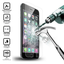 Toughened premium se tempered protective film protector glass screen plus iphone
