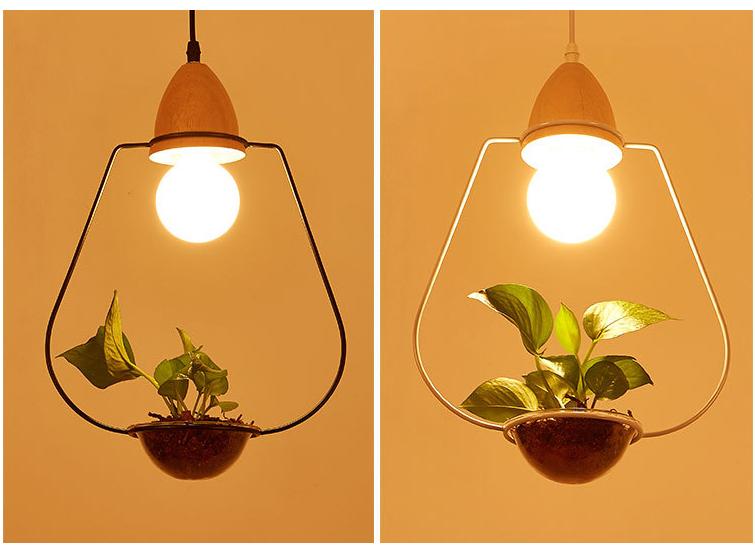 Led Plant Pendant Light
